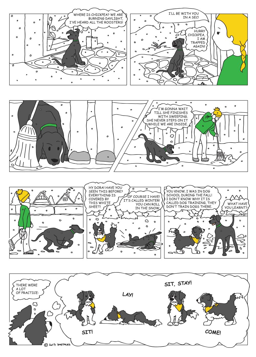 Dogtales X-mas 1/2