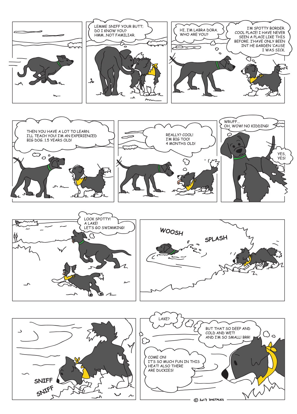 Dogtales part one 3/4